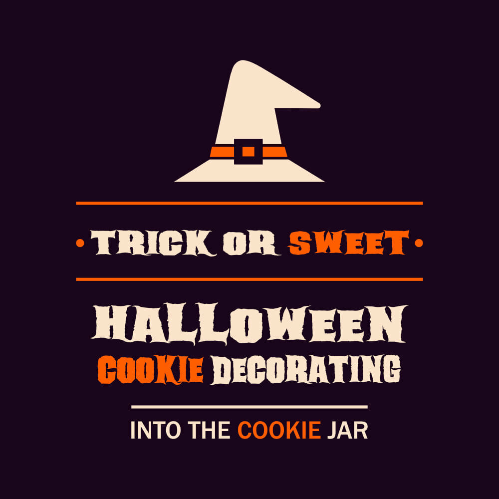 Trick or Sweet - Halloween Cookie Baking and Decorating - Into the Cookie Jar