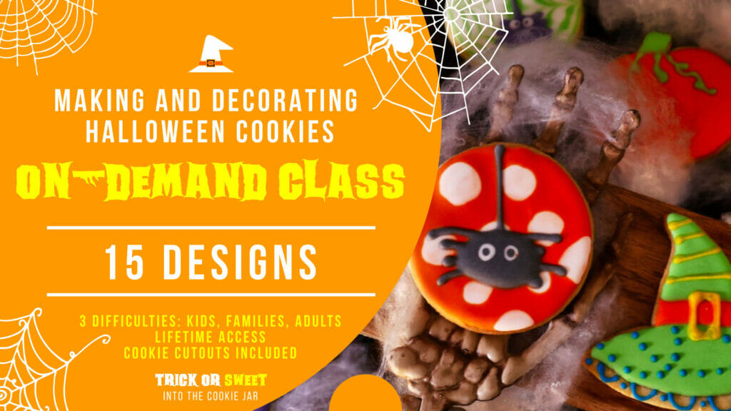 Trick or Sweet cookie class event